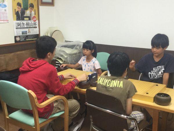 花まる 学習会杯 ジュニア本因坊 沖縄