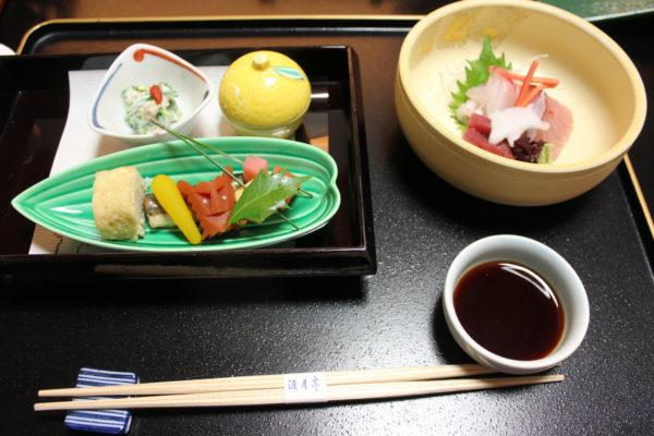 渡月亭 秀山閣 朝食 夕食 京都 嵐山 旅館