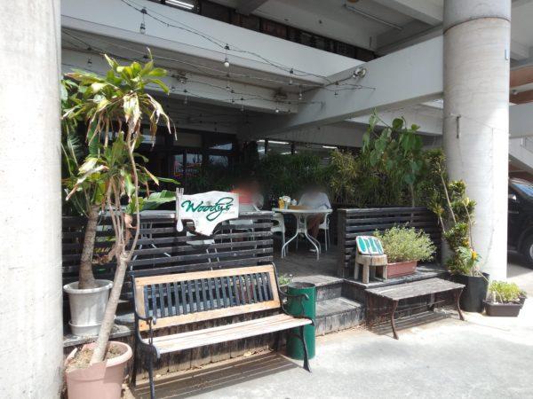 豊見城 ウッディーズ 駐車場 ランチ メニュー ハンバーガー
