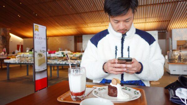 誕生日 六花亭 旭川 はしご ケーキ カフェ