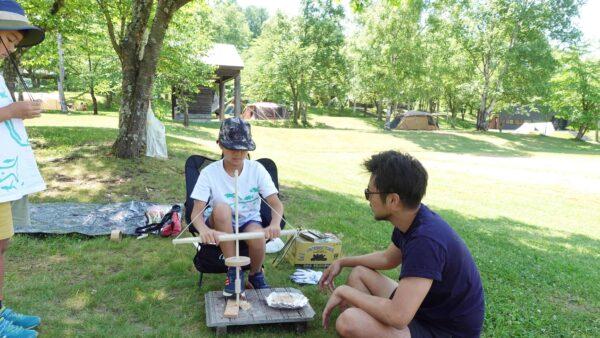 東神楽森林公園 キャンプ場 ブログ ゴーカート